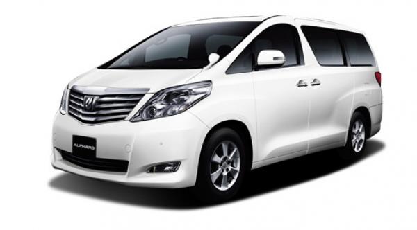 rental mobil Toyota Alphard jogja